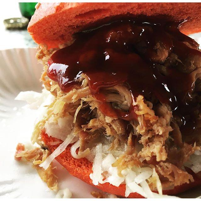 Fast scharf#redburger #pulledpork #burger #liezen #styria #streetfood