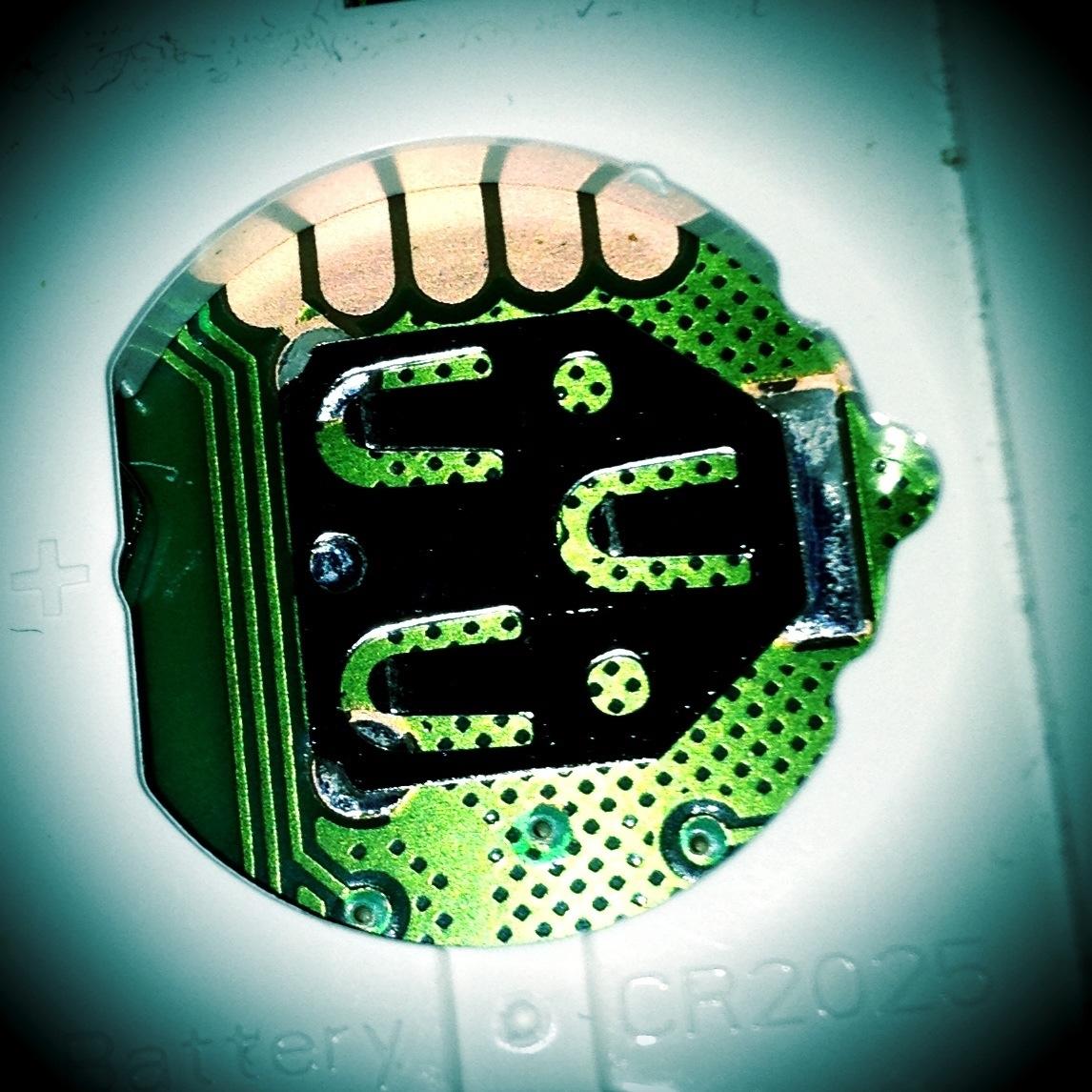 Faszination Technik - Das Batteriefach einer Fernbedienung