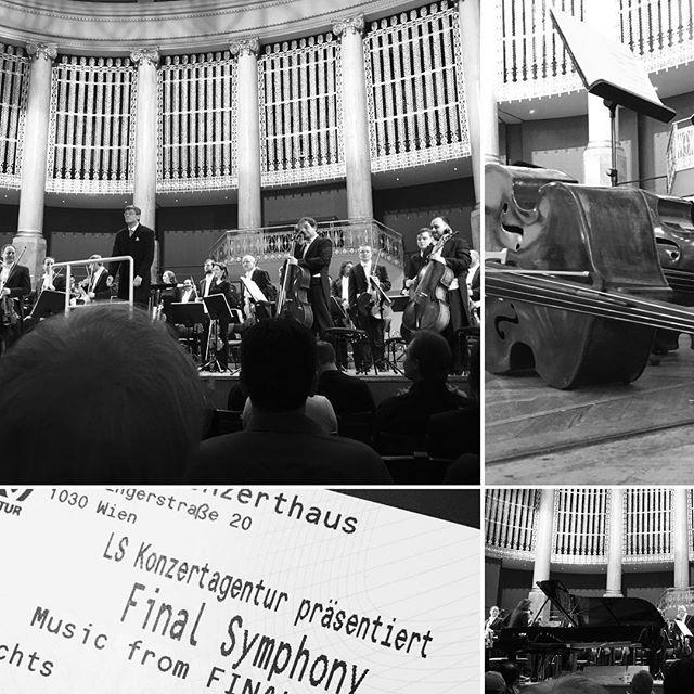 Computerspiel in concert. #finalsymphony #finalfantasy #wienerkonzerthaus #culture #concert