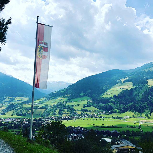 The beautiful Gasteinertal seen from the Gasteiner Höhenweg