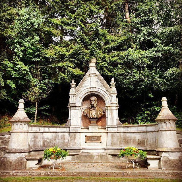 Kaiser Wilhelm I. Denkmal an der Kaiser-Wilhelm-Promenade. Er war wohl gerne hier auf Urlaub, sagt man sich…