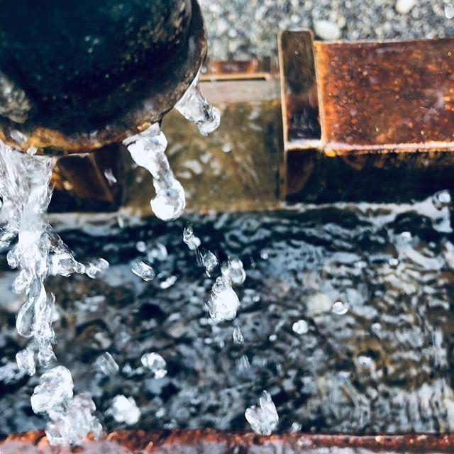 """Eine Wasserpumpe mit Filter """"dramatisch kalt"""""""