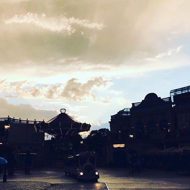 Wolken über dem Wiener Prater