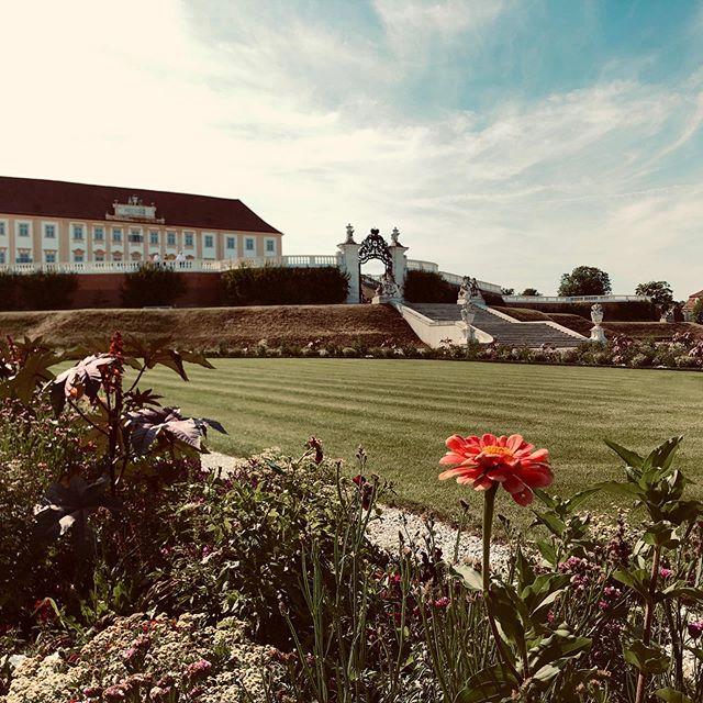 Schloss Hof in Schloßhof, ein wunderschönes Schloss mit Hof. Oder so