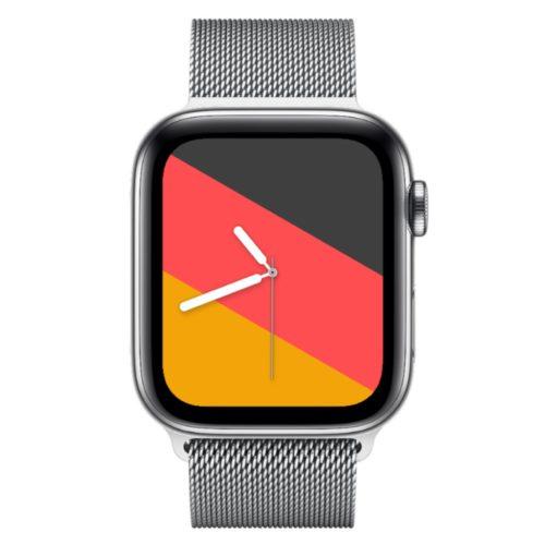 Apple Watchface zum Tag der deutschen Einheit für die Apple Watch