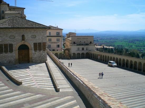 Assisi - Basikila des hl. Franziskus (2)