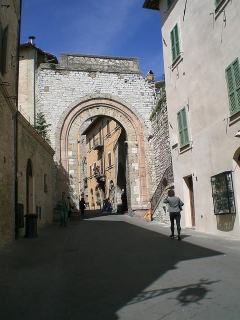 Assisi Italien Stadtbild (2)