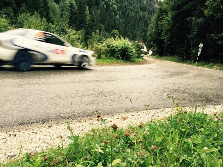In die Kurve (4.9.2015 - Rallye Liezen)