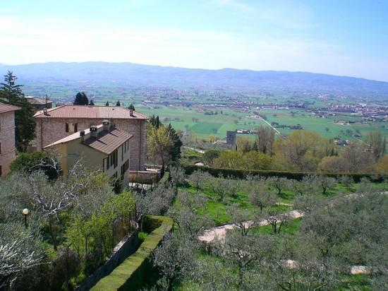 Panorama von Assisi (2)