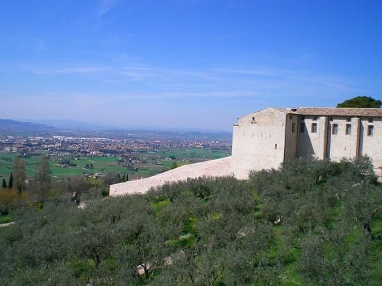 Panorama von Assisi