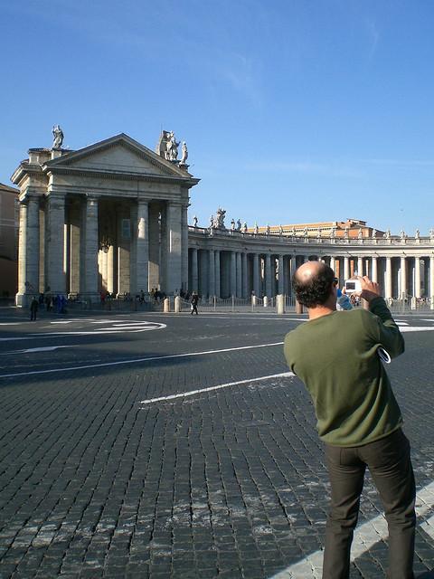 Petersplatz - linke Seite