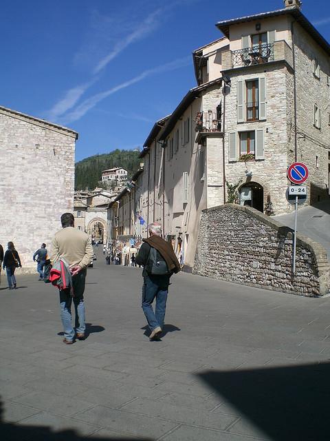 Stadtbild Assisi