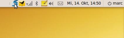 Karmics neue Icons im Indicator Applet