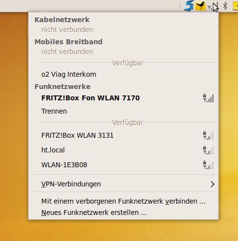 Ob der Network Manager in Karmic nun übersichtlicher ist?