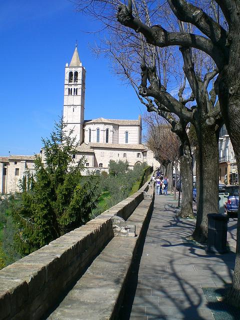 Weg nach Assisi