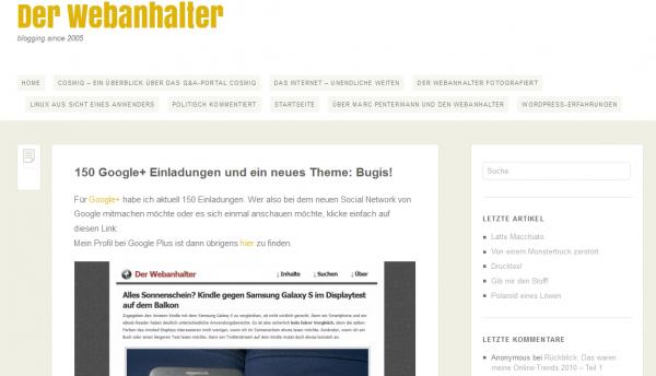 Bugis Theme (noch nicht komplett angepasst)