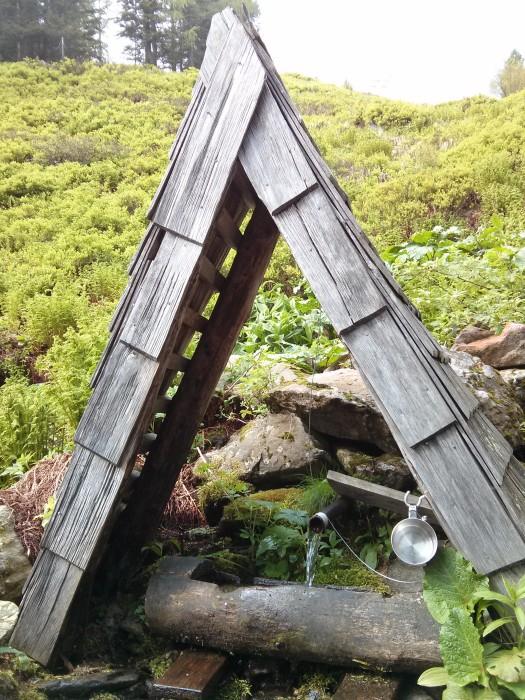 Butterbruenderl - Etwas Wasser auf dem Weg zur Rottenmanner Hütte?!
