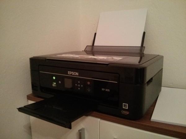 Epson XP-305 - Der WLan-Drucker und Scanner
