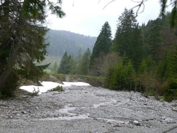 Flussbett in der Kaiserau