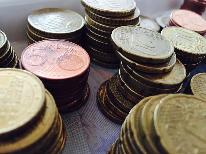 Fünf rote Cent