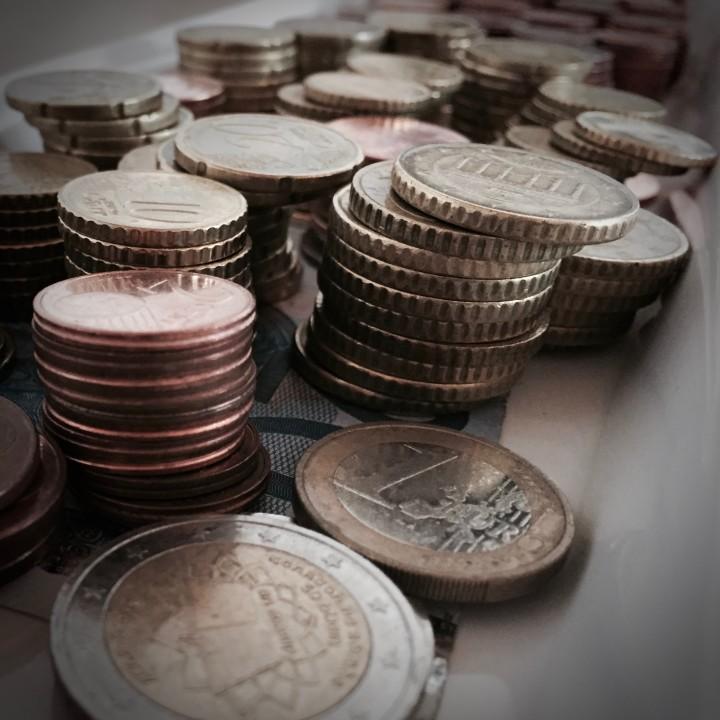 Geld im Dunklen oder Dämmerlicht