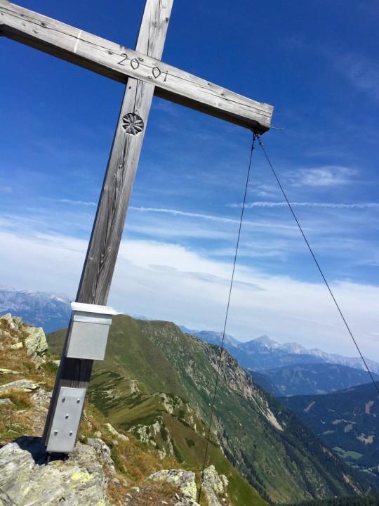 Gipfelkreuz der Seekoppe (Oppenberg, Rottenmanner Tauern)