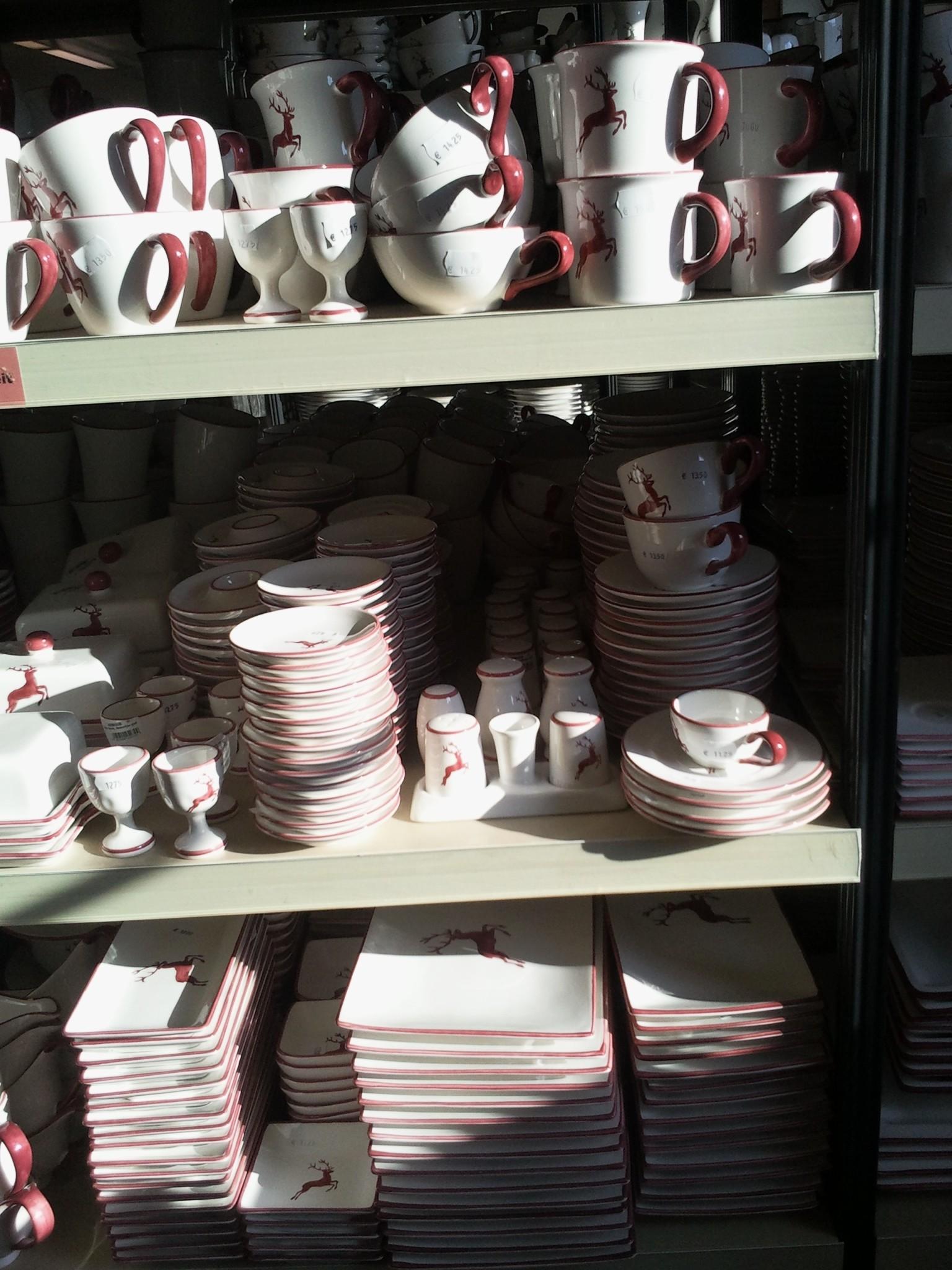 Gmunder Keramik - Die Hirschkollektion des teuren Porzellans aus Österreich