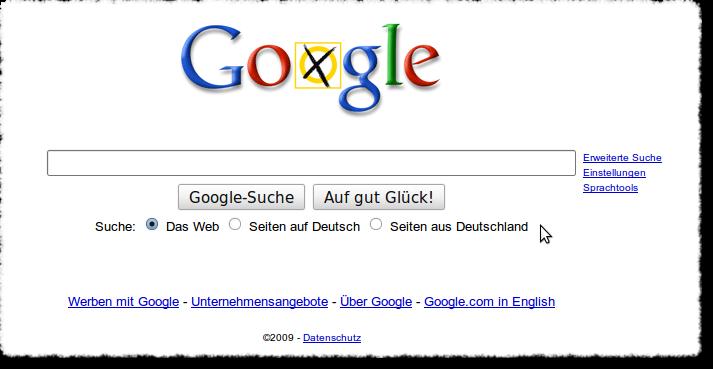 Google Doodle zur Bundestagswahl