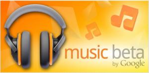 Das Google Music Logo (aus dem Android Market)