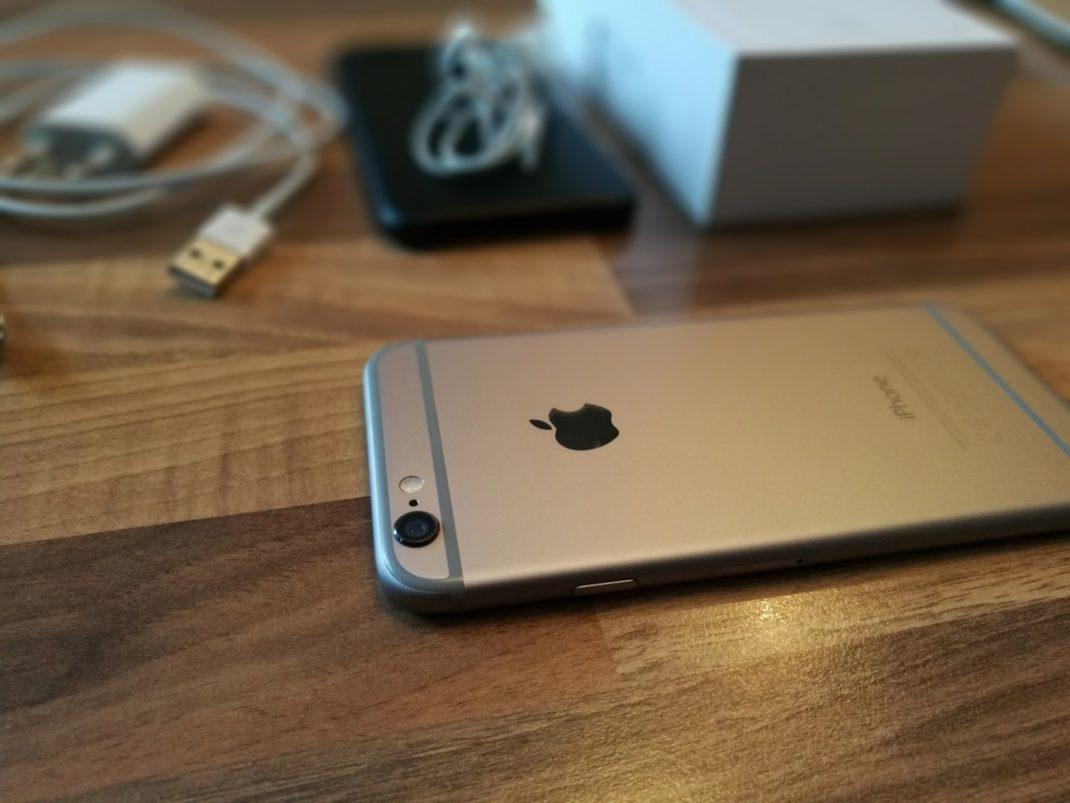 Testfoto mit dem Honor 8: Das alte iPhone 6 steht zum Verkauf