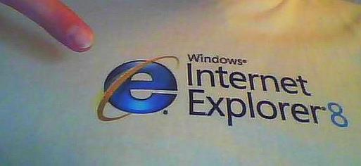 T-Shirt: Internet Explorer 8