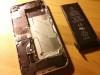 Ein iPhone 4S aufgemacht