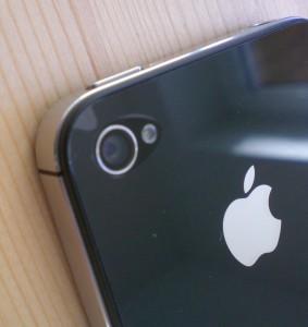 Kamera und Blitzlicht des iPhone 4S