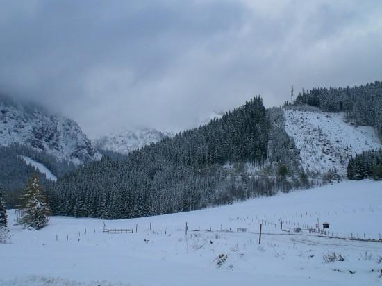 Skigebiet der Kaiserau