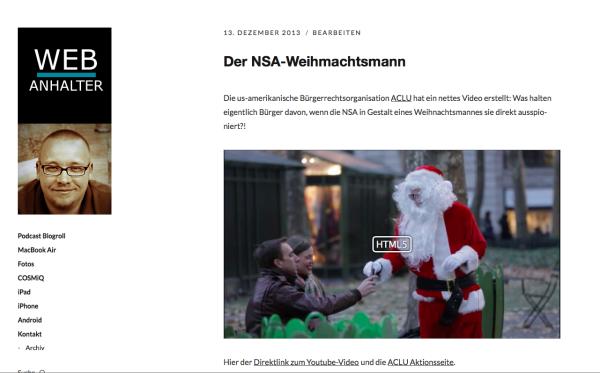 Moka, das neue WordPress-Theme von Elmastudio auf www.webanhalter.de