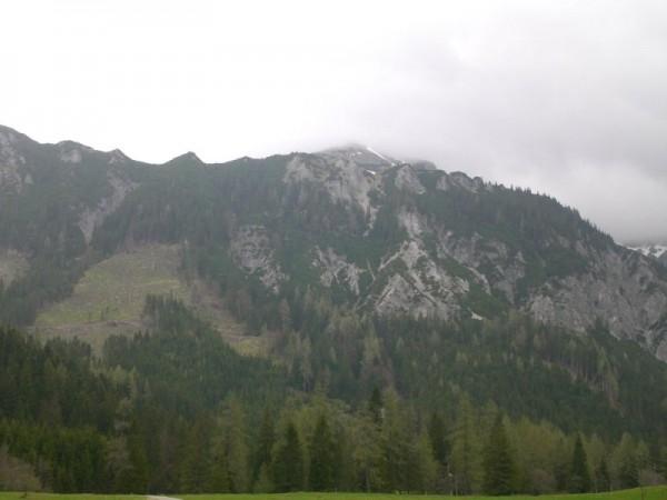 Schönes Panorama in der Kaiserau