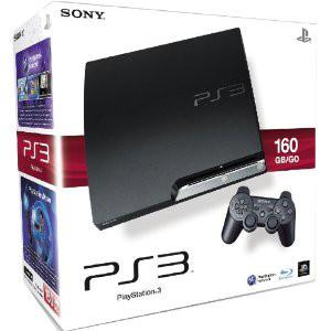 PlayStation 3 - Konsole Slim 160 GB inkl. Dual Shock 3 Wireless Controller