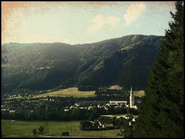 Panorama von Rottenmann