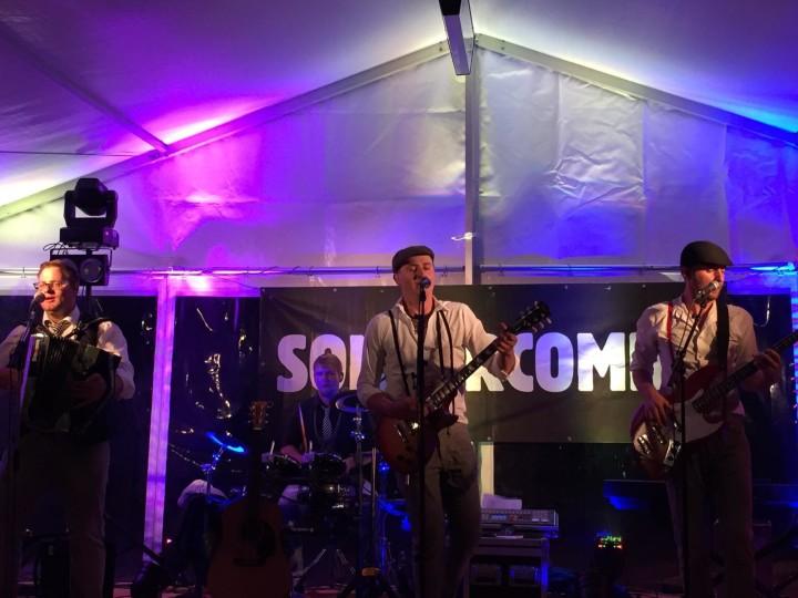 Konzert der Sondercombo bei der Eröffenung der Perschen Alm im Mai 2015