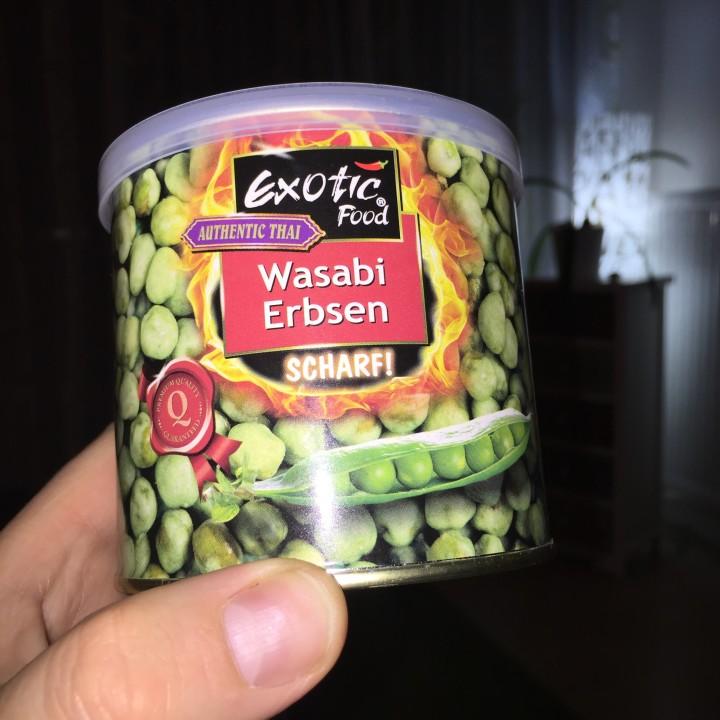 Der etwas andere Snack: Wasabi Erbsen