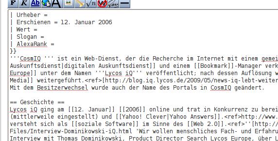 Wikipedia Interface