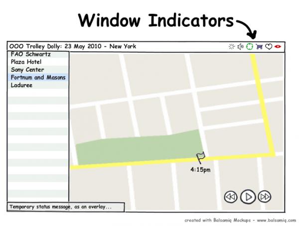 Mockup: Windicators
